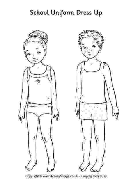 printable dress up dolls school uniform paper dolls use for dressing up with up dolls printable dress