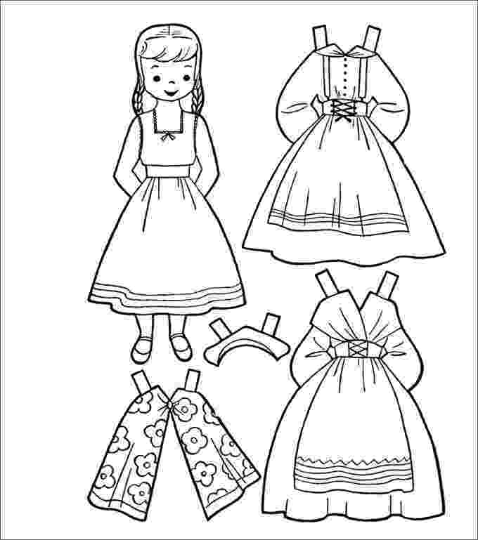 printable dress up dolls template for girl and clothes also mailbox tree for dolls printable dress up