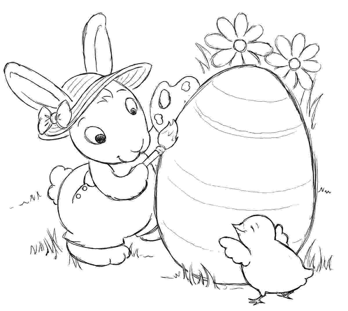 printable easter bunny easter bunny coloring pages 360coloringpages easter printable bunny