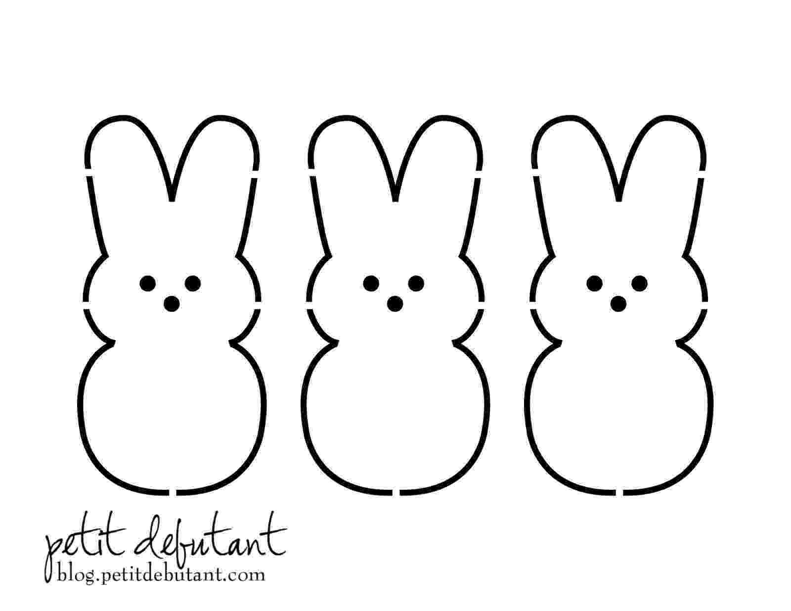 printable easter bunny easter colouring easter bunny paper craft printable activity bunny easter printable
