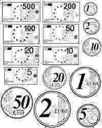 printable euro money euro symbol stencil free stencil gallery money printable euro
