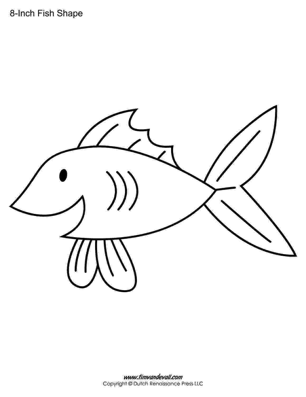 printable fish template fish template 2 template fish printable