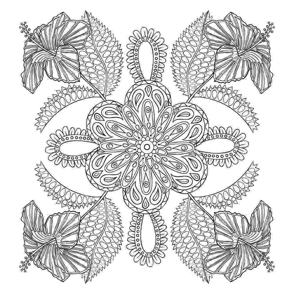 printable flower coloring pages for adults flower coloring pages for adults best coloring pages for flower pages adults coloring printable for