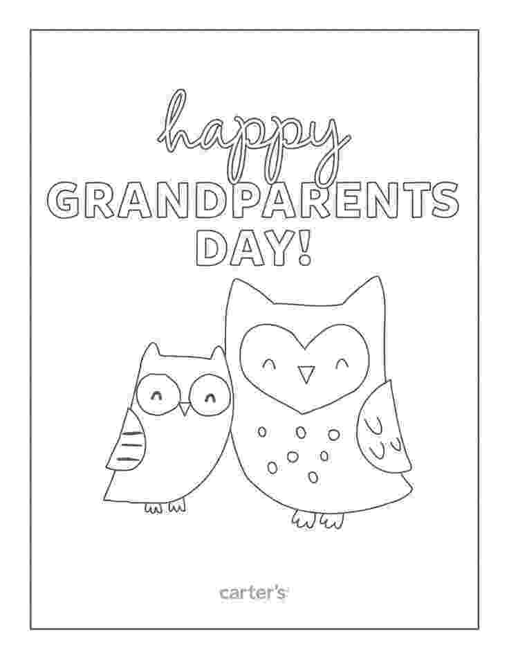 printable grandparents day cards to color grandparents day coloring pages kids children39s church color grandparents printable cards to day
