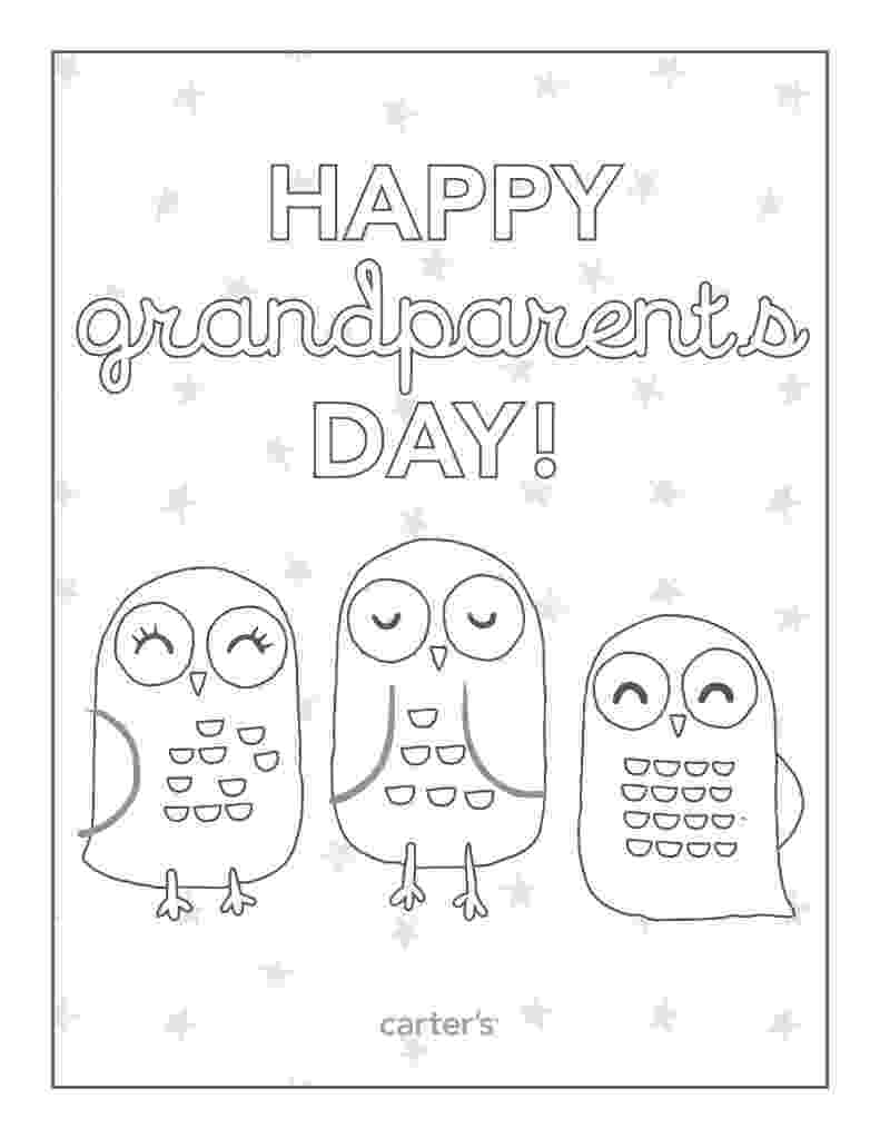 printable grandparents day cards to color happy grandparents day card coloring page free printable grandparents day cards color to printable