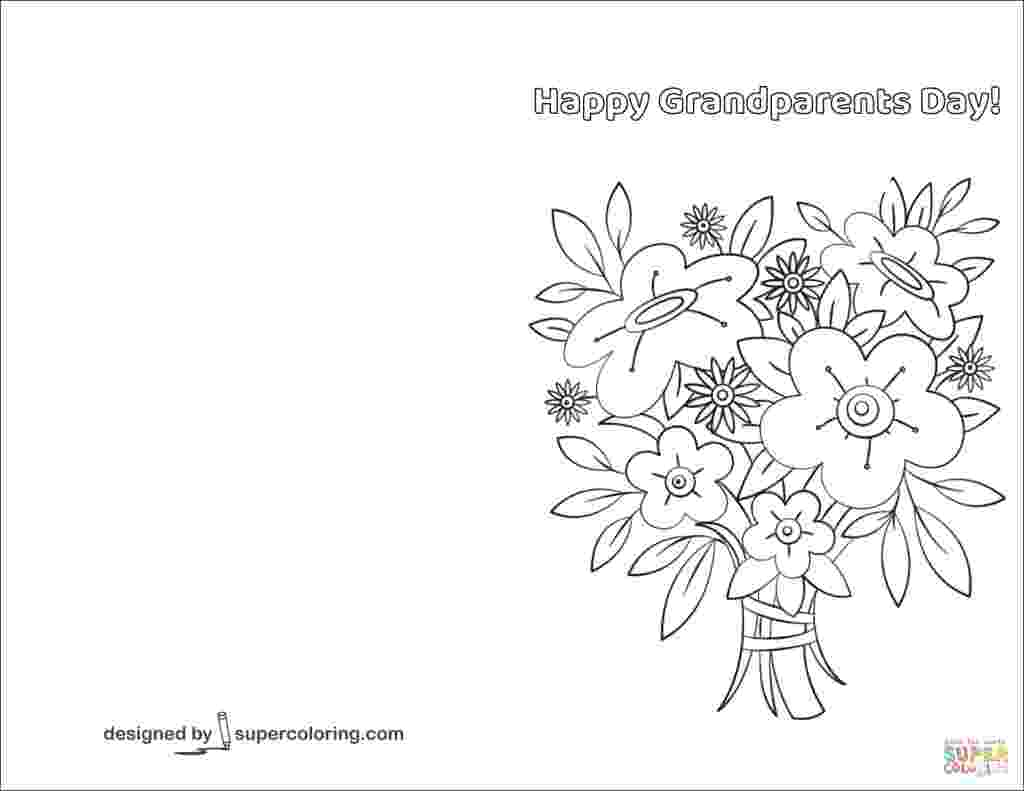 printable grandparents day cards to color happy grandparents day doodle card coloring page free color printable cards day to grandparents