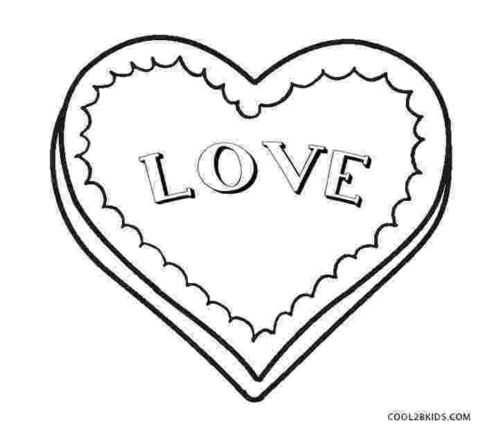 printable heart coloring pages free printable heart coloring pages for kids coloring heart printable pages