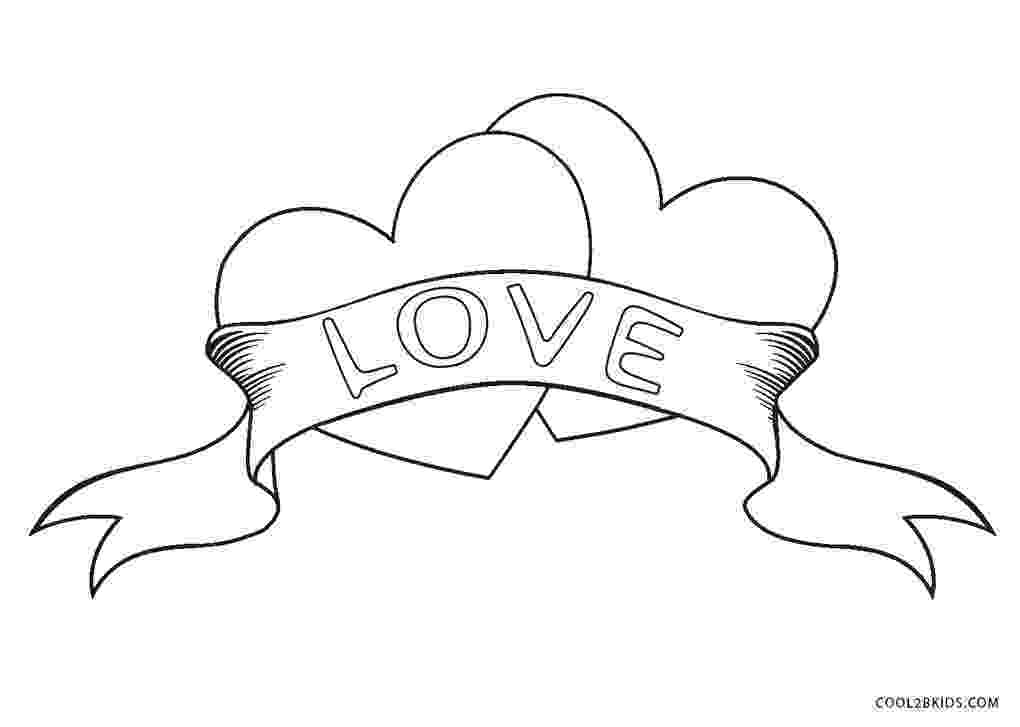 printable heart coloring pages free printable heart coloring pages for kids pages printable coloring heart
