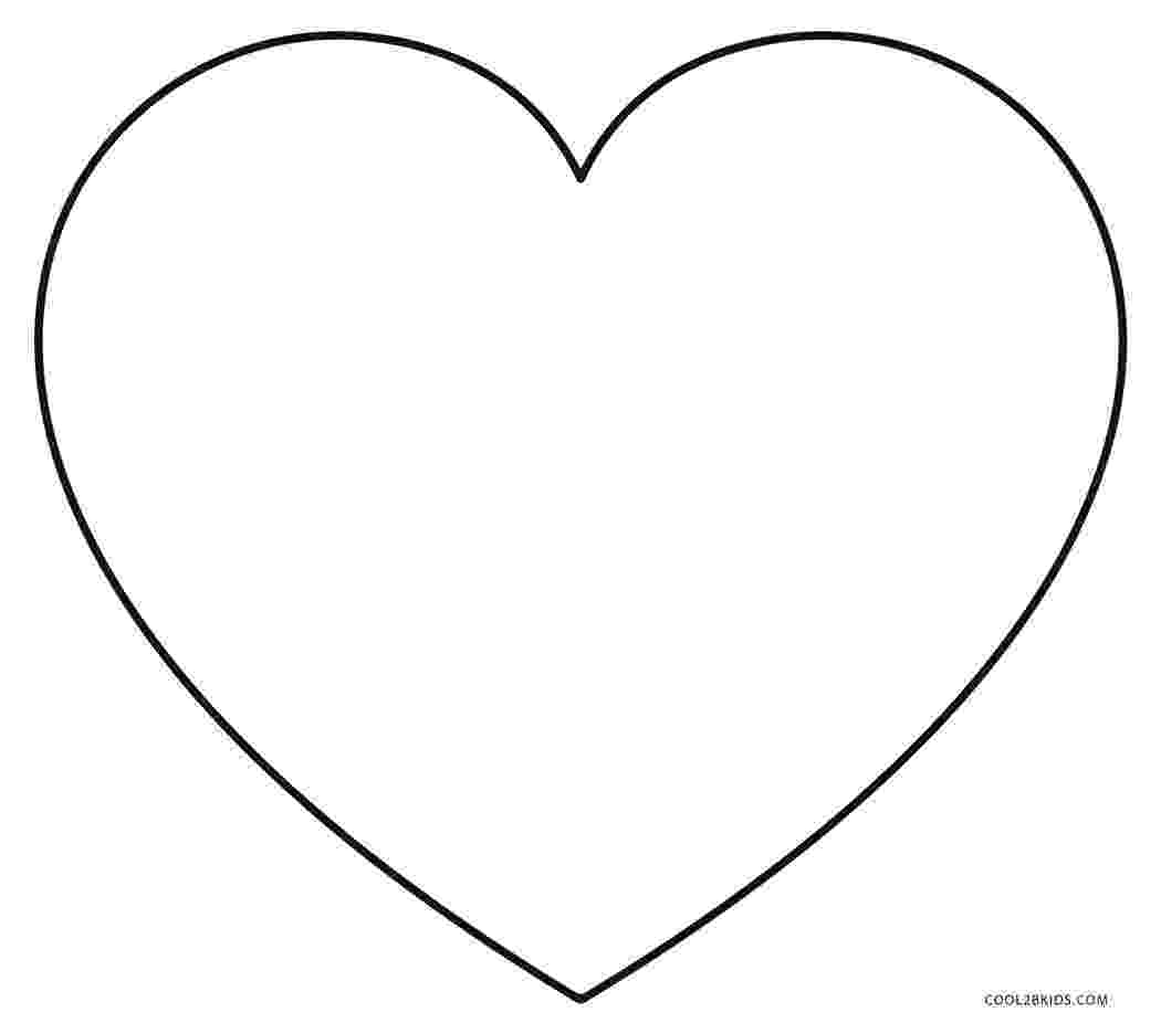 printable heart coloring pages free printable heart coloring pages for kids pages printable heart coloring
