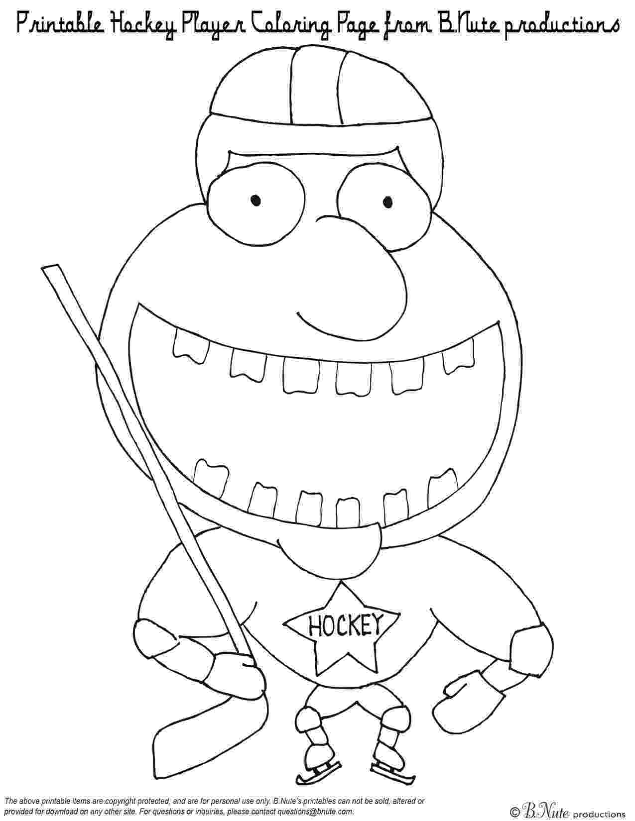 printable hockey coloring pages hockey player coloring pages to download and print for free pages printable coloring hockey