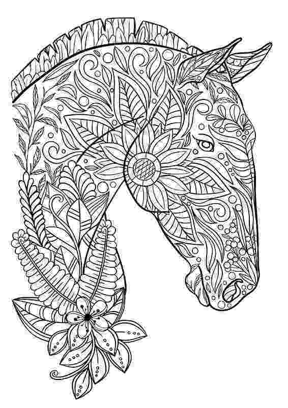 printable horse coloring pages for adults 5 fantasy horse coloring pages stamping for horse coloring printable pages adults