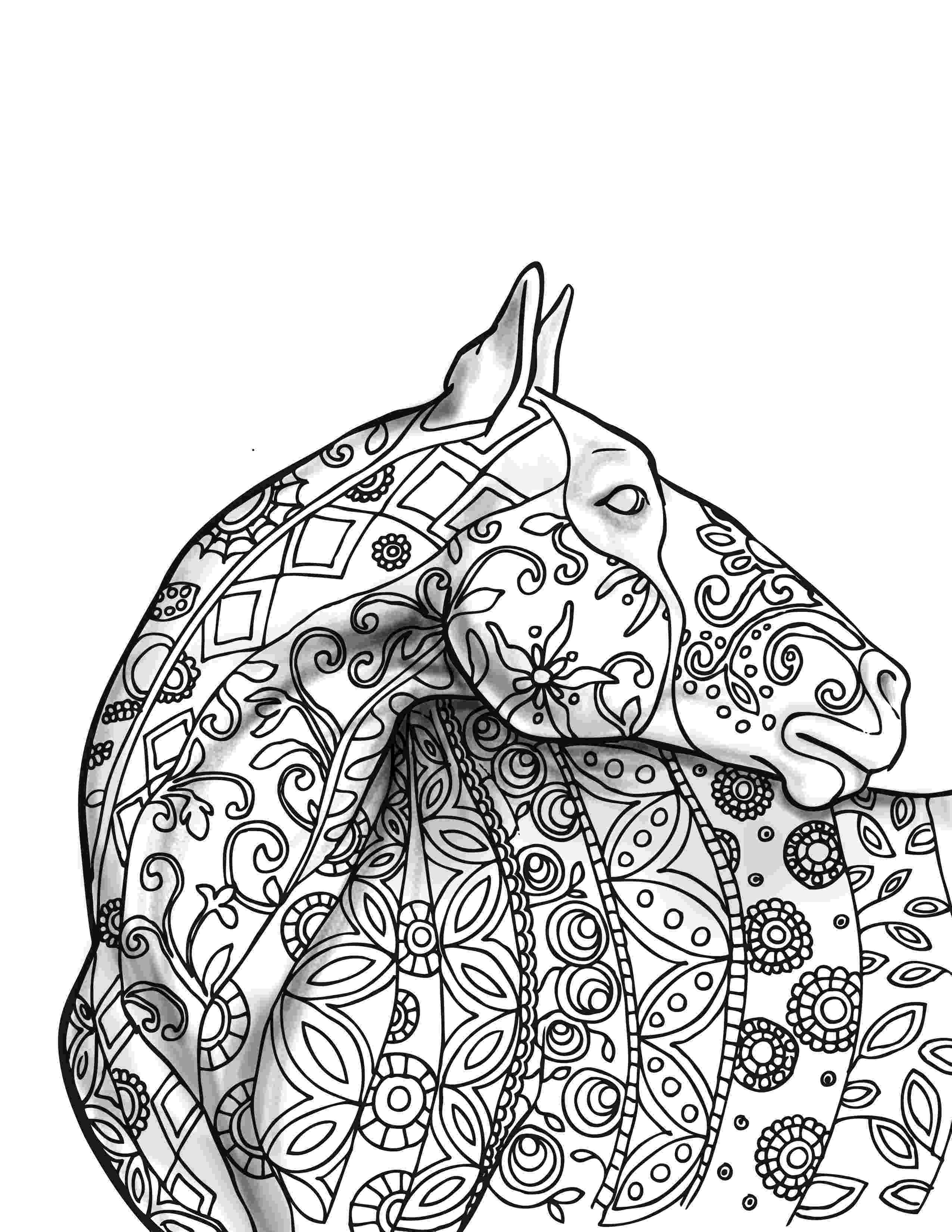 printable horse coloring pages for adults coloring book samples selah works adult coloring books coloring for adults printable pages horse