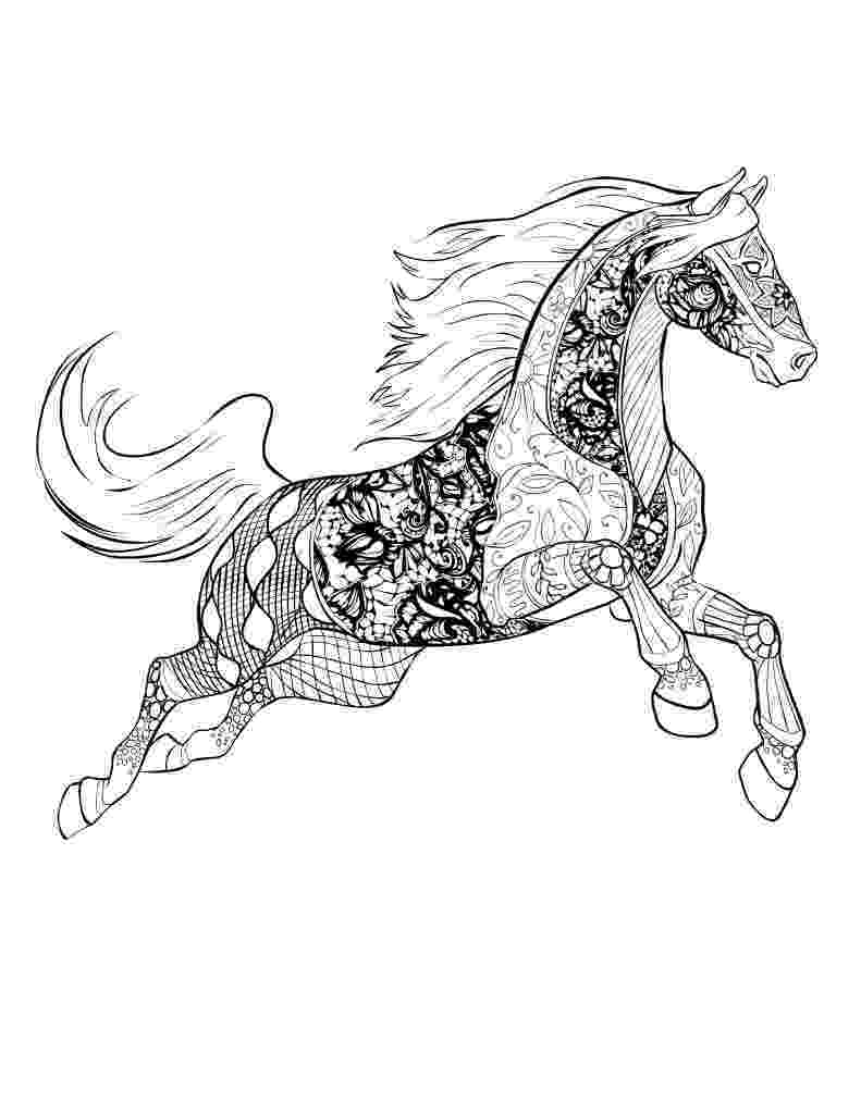 printable horse coloring pages for adults horse coloring pages for adults best coloring pages for kids horse coloring printable adults for pages