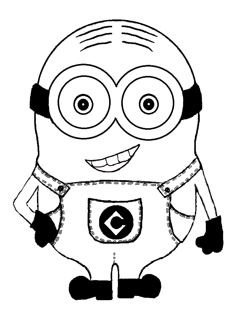 printable minions minion coloring pages best coloring pages for kids printable minions 1 1