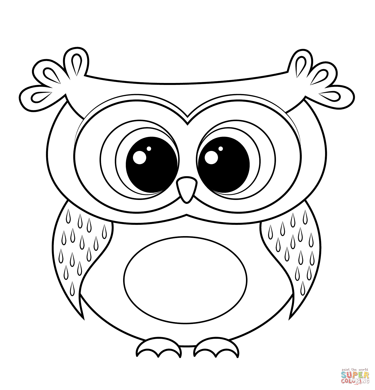 printable owl images owls animal coloring pages pictures owl images printable