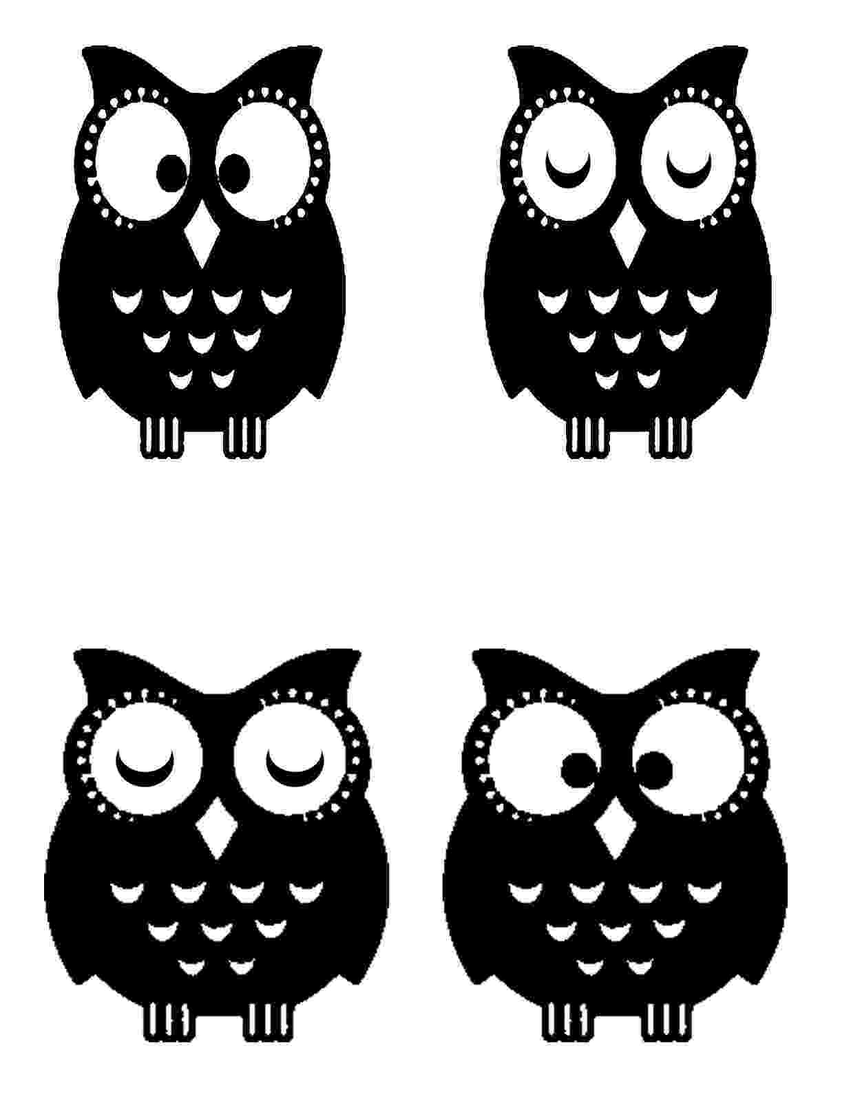 printable owls owls coloring pages to download and print for free owls printable