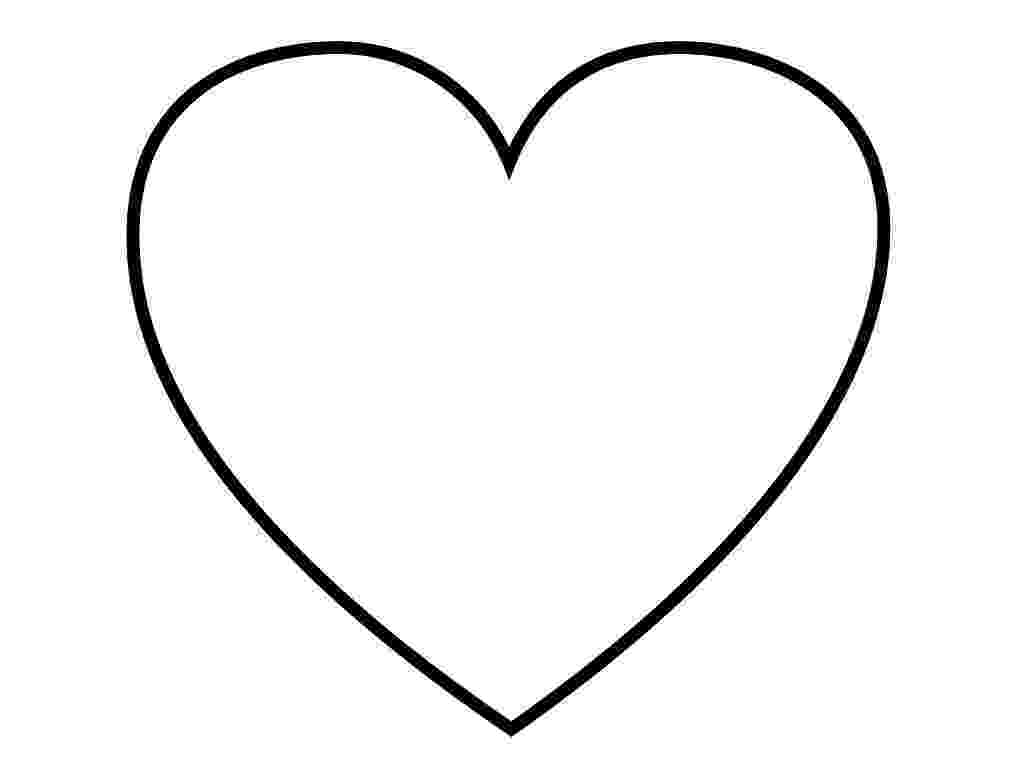 printable picture of a heart heart coloring page for girls to print for free a of picture heart printable