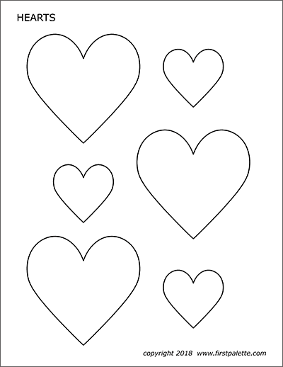 printable picture of a heart heart template free printable heart cut out stencils and of picture a printable heart