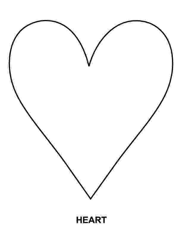 printable picture of a heart hearts free printable templates coloring pages heart a picture printable of