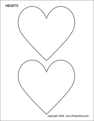 printable picture of a heart top heart shaped clip art printable library free vector a picture heart of printable