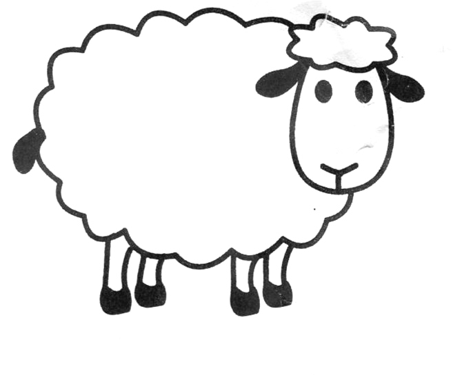 printable picture of a sheep try counting sheep printable counting activity for sheep a printable picture of