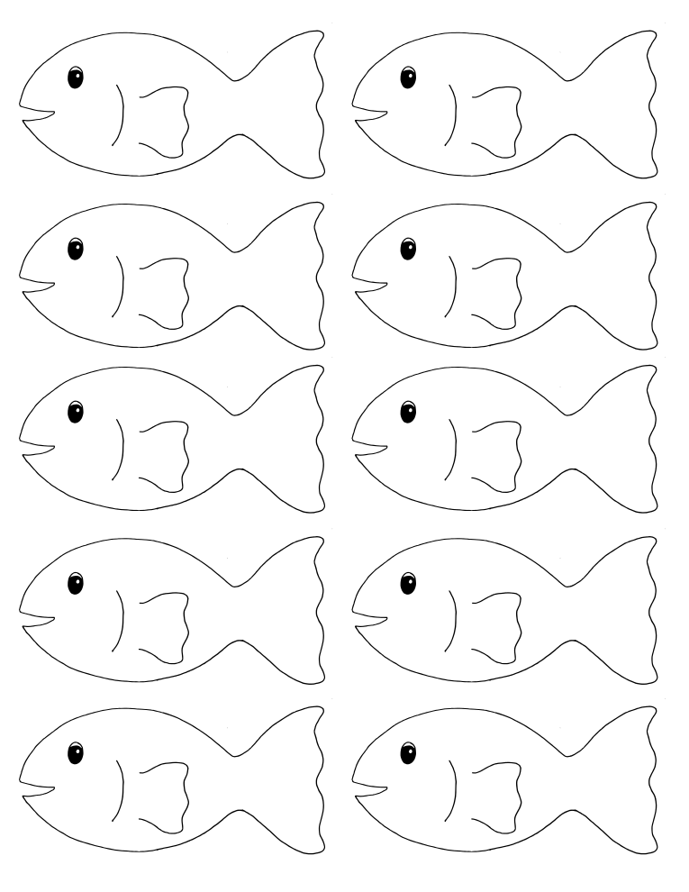 printable pictures of fish free printable fish coloring pages for kids tiger cub of pictures printable fish