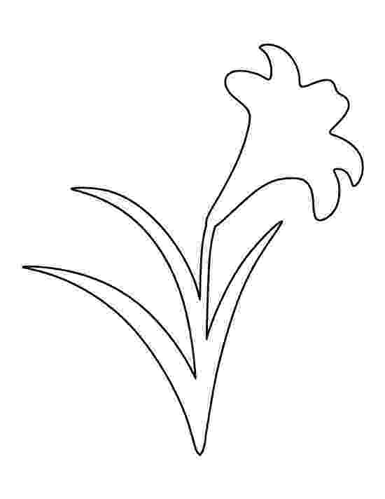 printable pictures of lilies lilies easter and templates on pinterest lilies pictures printable of