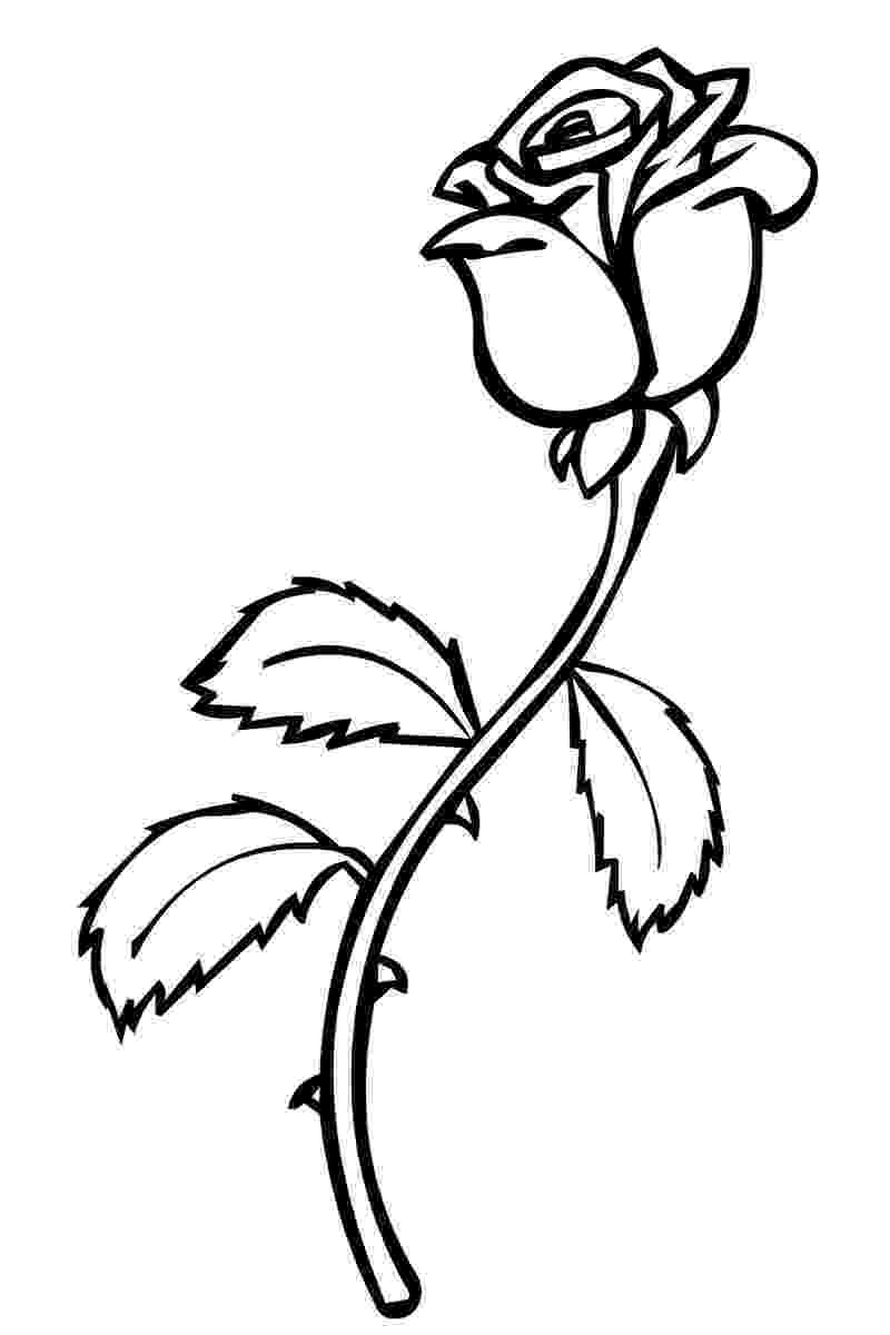 printable roses printable rose coloring pages for kids cool2bkids printable roses 1 1