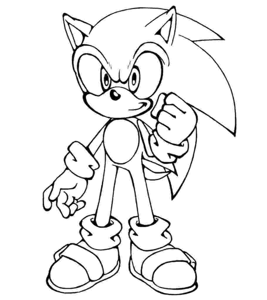 printable sonic coloring pages cute sonic the hedgehog coloring page hedgehog colors sonic printable pages coloring