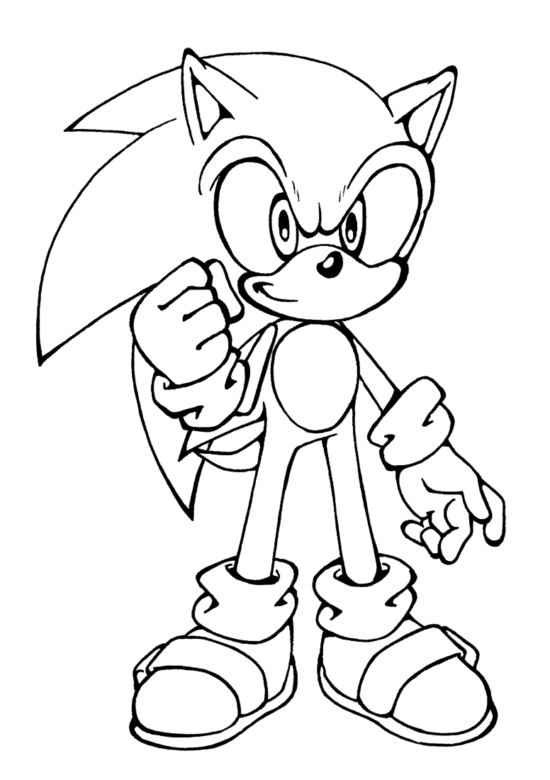 printable sonic coloring pages free printable sonic the hedgehog coloring pages for kids coloring pages printable sonic