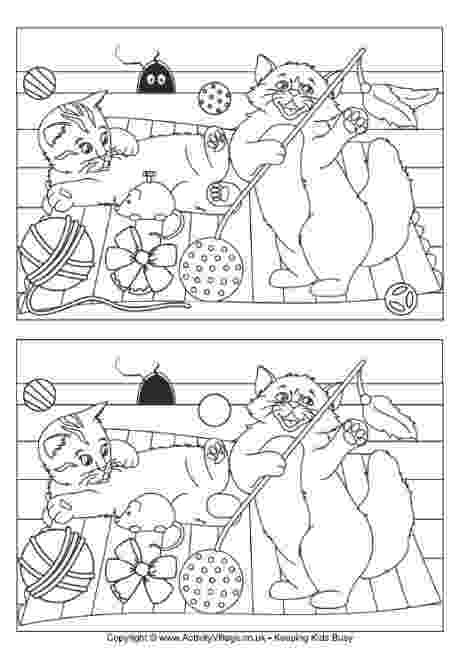 printable spot the difference games for adults diferencias atention pinterest games adults difference the printable spot for