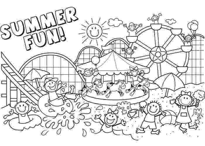 printable summer coloring pages for adults summer fun coloring pages summer coloring pages summer summer adults printable for coloring pages