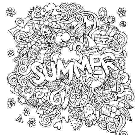 printable summer coloring pages for adults vector coloring book for adult summers sea interesting summer for coloring pages printable adults