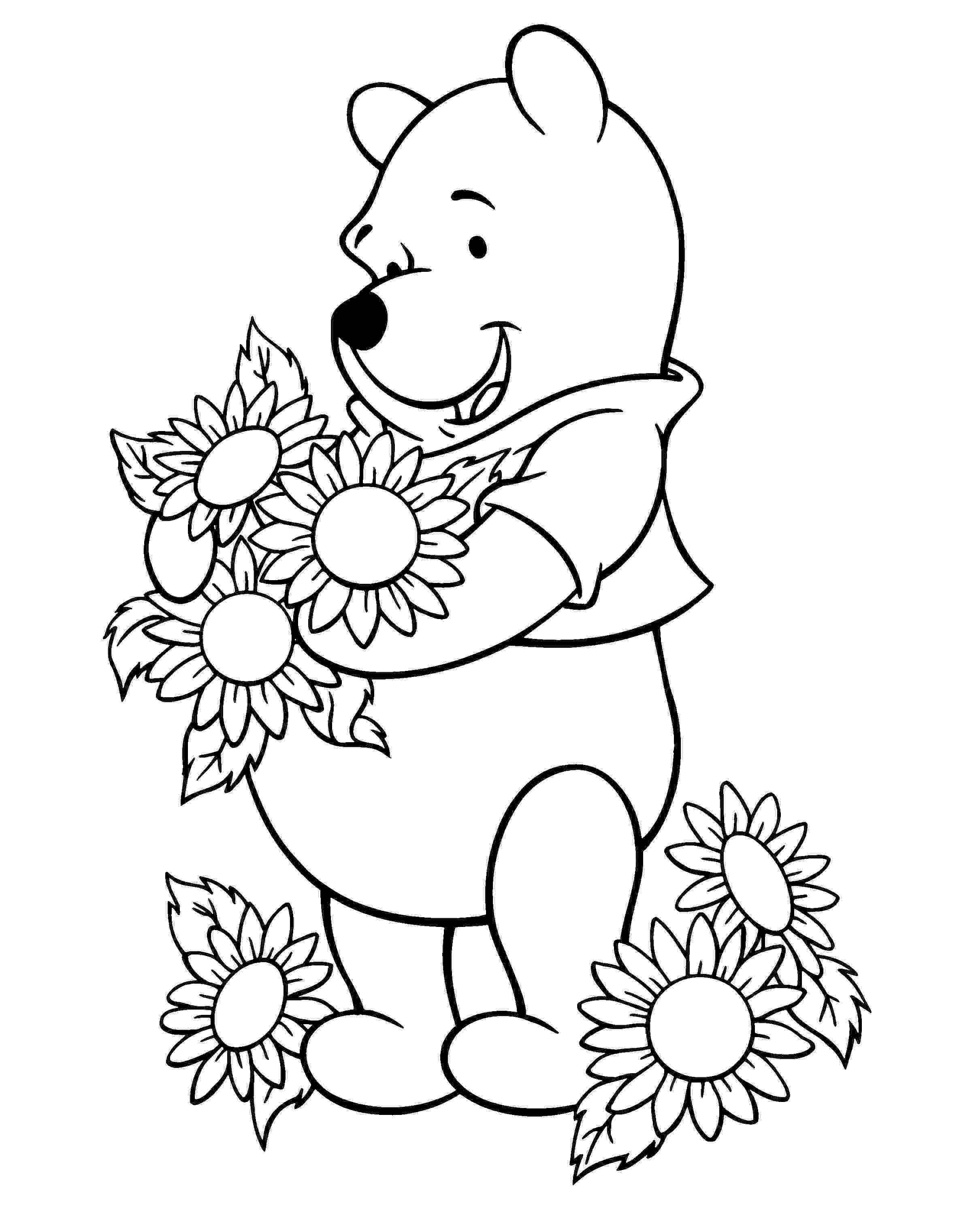 printable sunflower pictures to color sunflower coloring pages sunflower coloring pages to sunflower color pictures printable