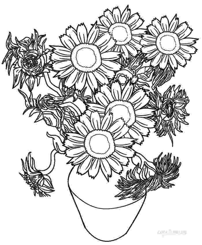 printable sunflower pictures to color sunflower coloring pages to download and print for free pictures sunflower color to printable
