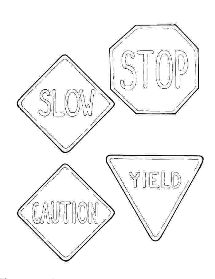 printable traffic signs coloring pages school coloring sheets janice39s daycare signs coloring printable traffic pages