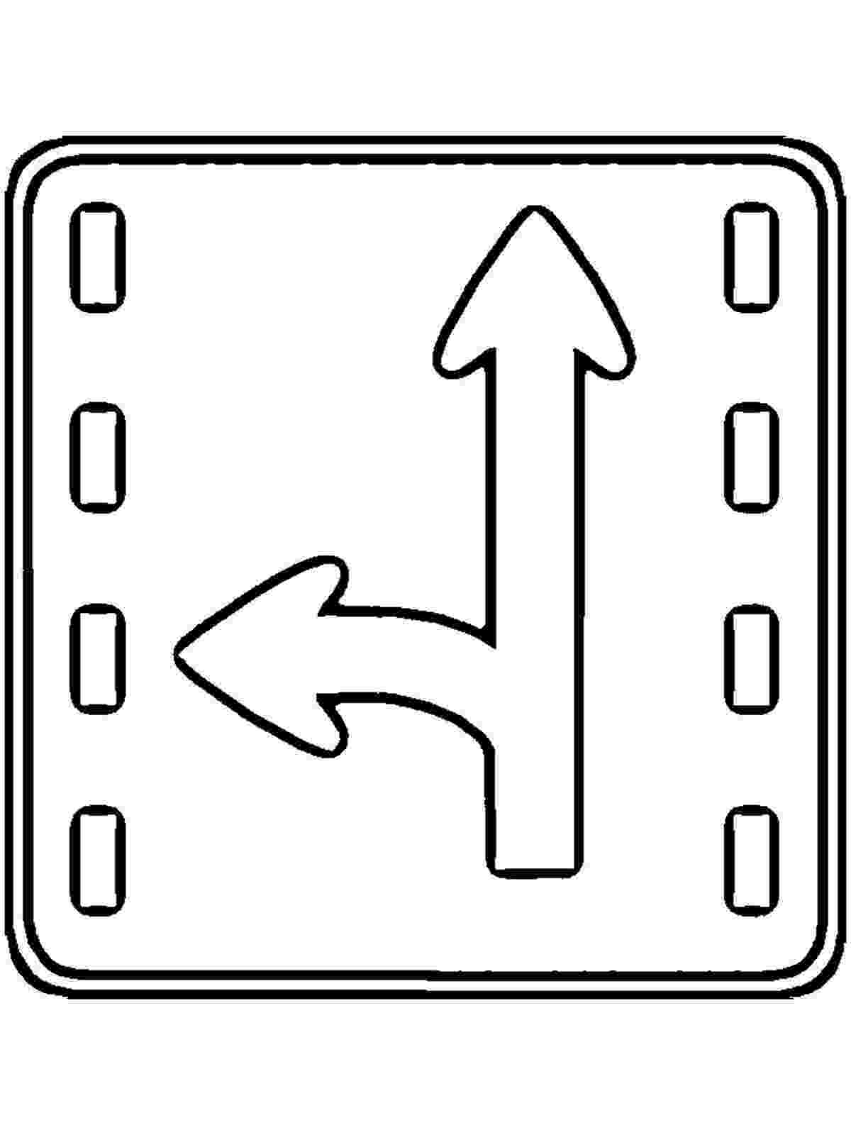 printable traffic signs coloring pages traffic sign coloring pages getcoloringpagescom coloring printable pages signs traffic
