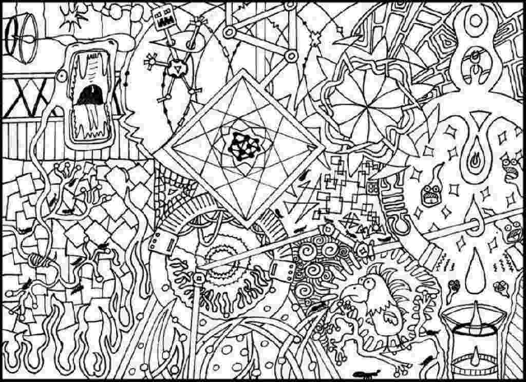 psychedelic colouring pages 50 trippy coloring pages pages psychedelic colouring