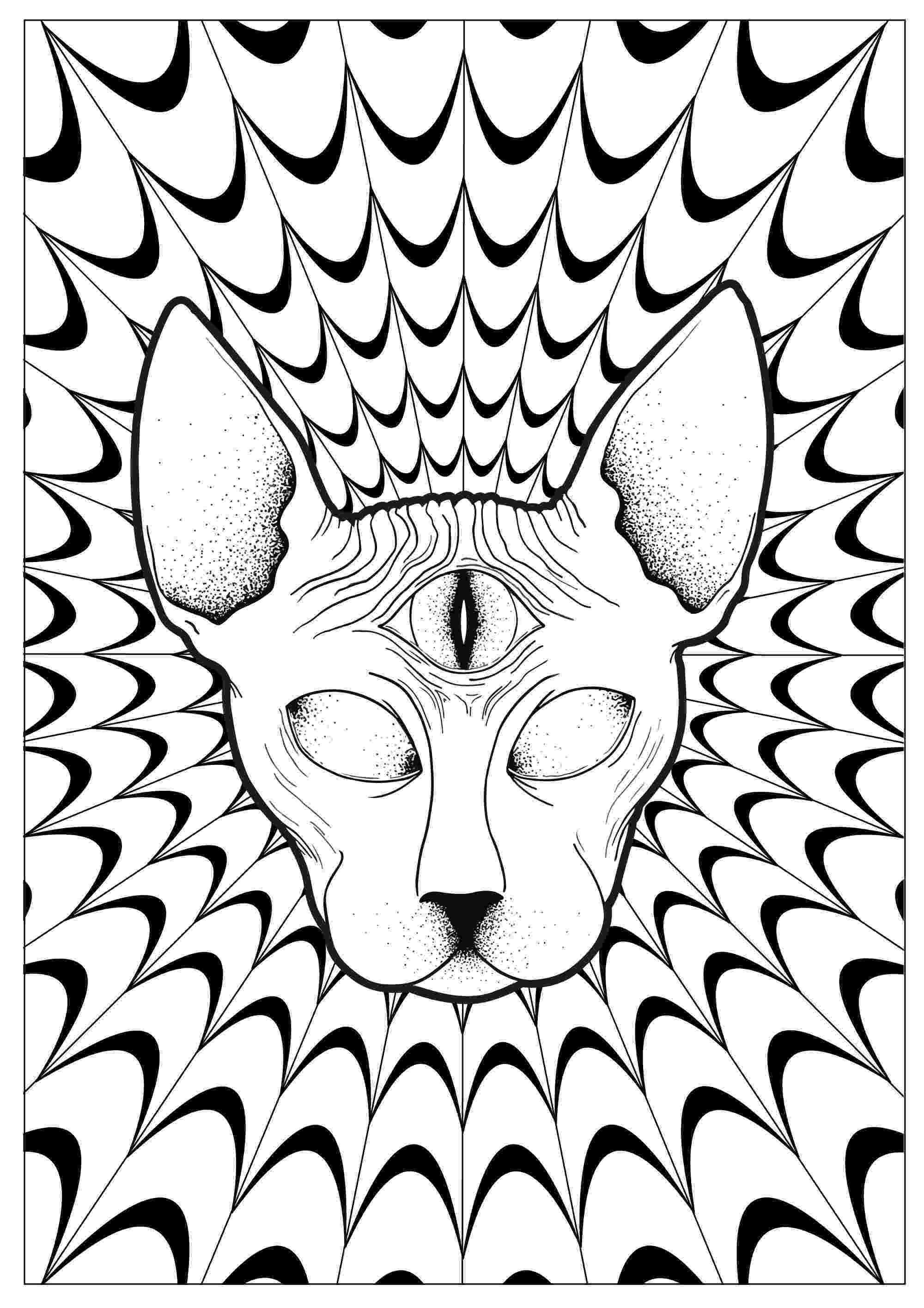 psychedelic colouring pages trippy coloring pages only coloring pages pages colouring psychedelic