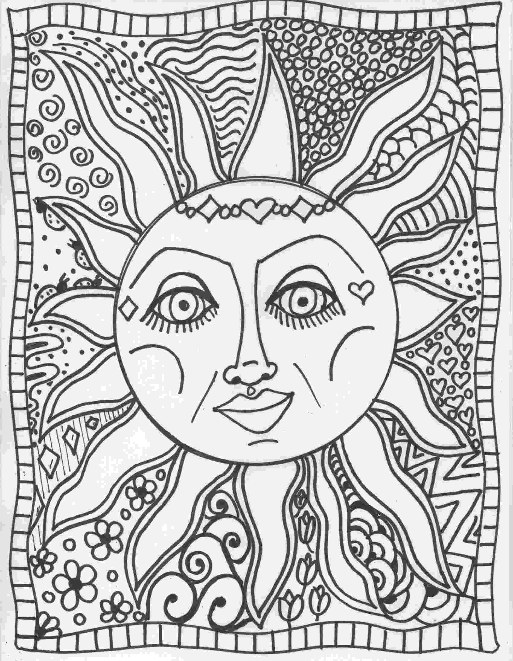 psychedelic colouring pages trippy coloring pages to print coloring home colouring psychedelic pages