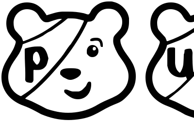 pudsey bear template printables fonts pudsey bear regular by spideray abstract fonts bear template printables pudsey