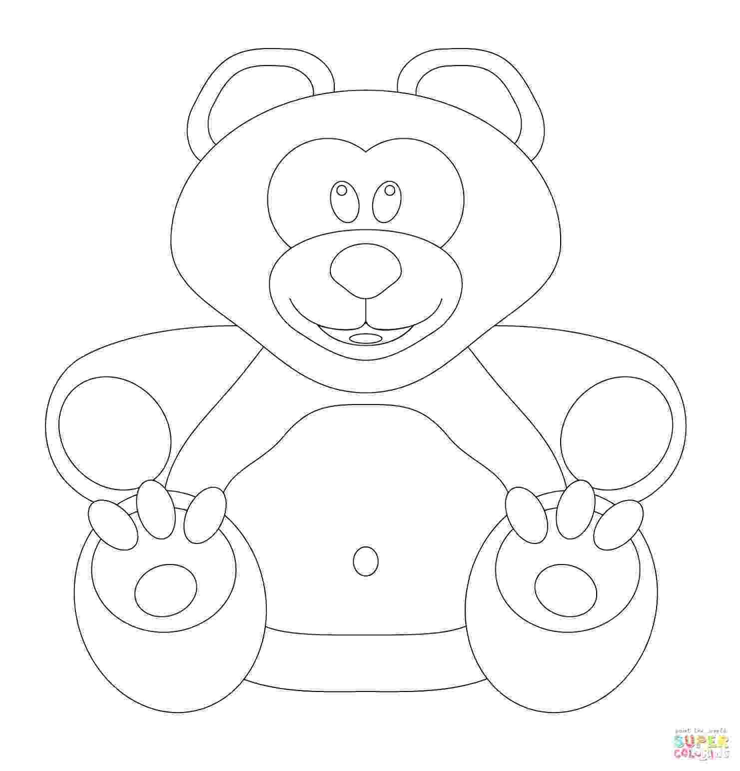pudsey bear template printables pudsey bear template sketch coloring page bear pudsey printables template
