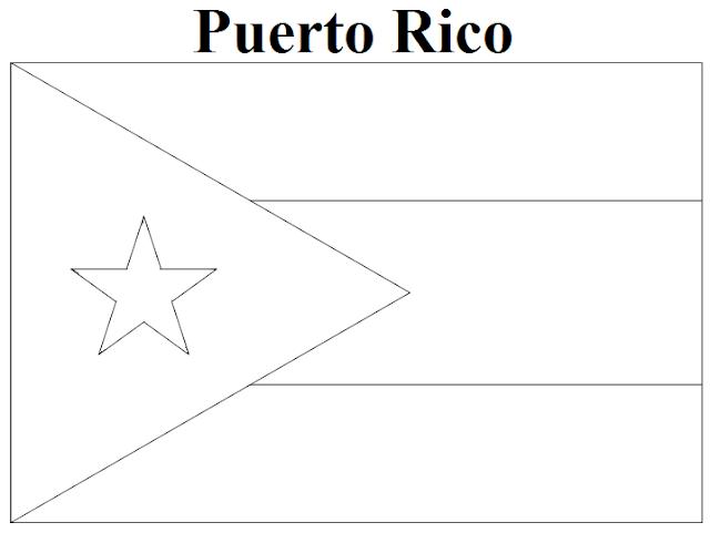 puerto rico flag to color puerto rico flag coloring page coloring home flag to rico puerto color
