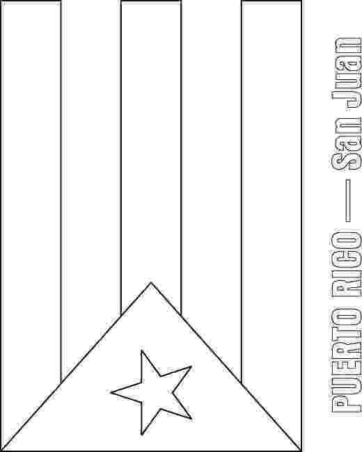 puerto rico flag to color puerto rico flag colouring page to rico color puerto flag