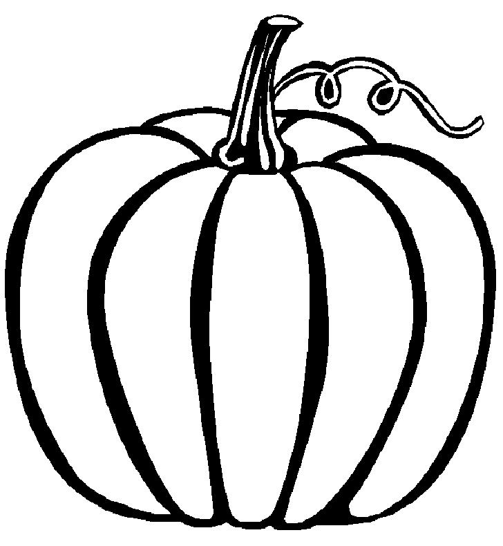 pumpkin to color pumpkin outline printable clipartioncom to color pumpkin