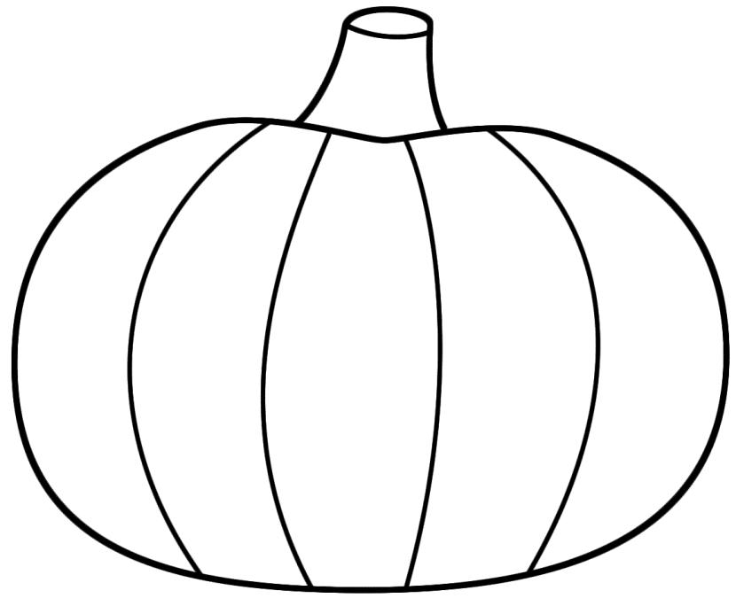 pumpkin to color simple pumpkin coloring page free printable coloring pages to color pumpkin