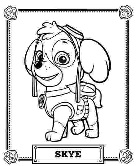 pup patrol coloring pages free paw patrol coloring pages happiness is homemade coloring patrol pup pages