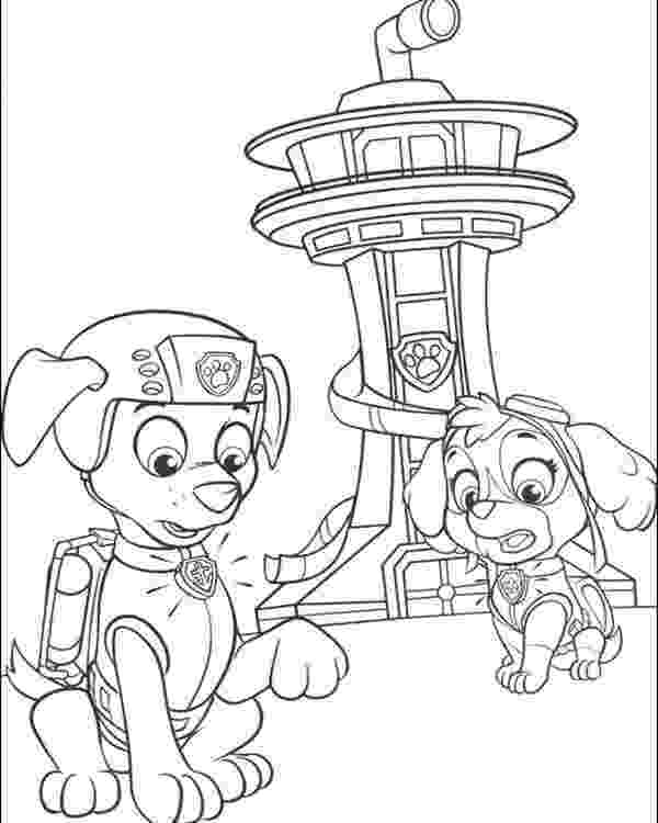 pup patrol coloring pages paw patrol coloring pages to print getcoloringpagescom coloring pup patrol pages