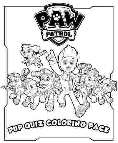 pup patrol coloring pages paw patrol puppies in halloween costume coloring page coloring pup patrol pages