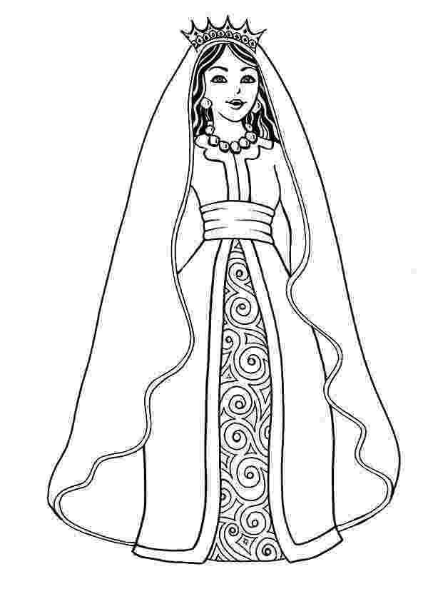 queen esther coloring pages esther queen esther coloring pages